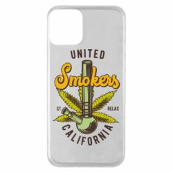 Чохол для iPhone 11 United smokers st relax California