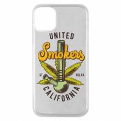 Чохол для iPhone 11 Pro United smokers st relax California