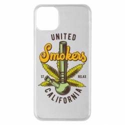 Чохол для iPhone 11 Pro Max United smokers st relax California