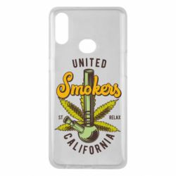 Чохол для Samsung A10s United smokers st relax California
