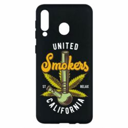 Чохол для Samsung M30 United smokers st relax California