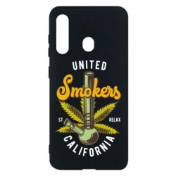 Чохол для Samsung M40 United smokers st relax California