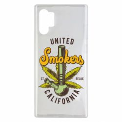 Чохол для Samsung Note 10 Plus United smokers st relax California