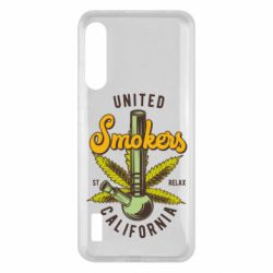 Чохол для Xiaomi Mi A3 United smokers st relax California