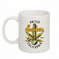 Кружка 320ml United smokers st relax California