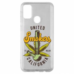 Чохол для Samsung M30s United smokers st relax California