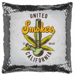 Подушка-хамелеон United smokers st relax California