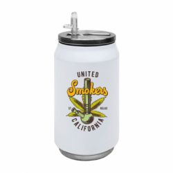 Термобанка 350ml United smokers st relax California