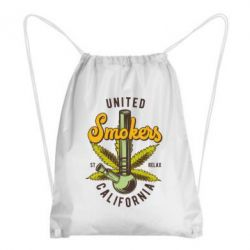 Рюкзак-мішок United smokers st relax California