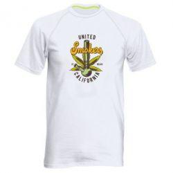 Купить Мужская спортивная футболка United smokers st relax California, FatLine