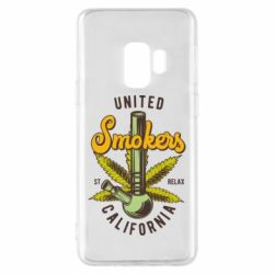 Чохол для Samsung S9 United smokers st relax California