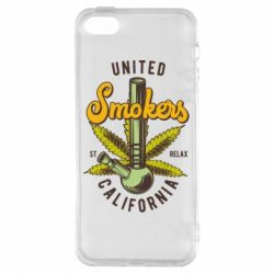 Чохол для iphone 5/5S/SE United smokers st relax California