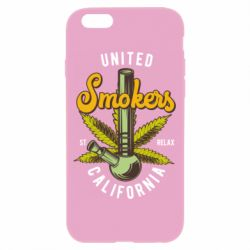 Чохол для iPhone 6/6S United smokers st relax California