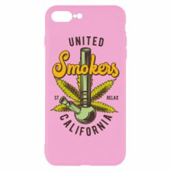 Чохол для iPhone 7 Plus United smokers st relax California