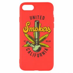 Чохол для iPhone 8 United smokers st relax California