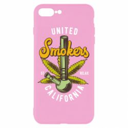 Чохол для iPhone 8 Plus United smokers st relax California