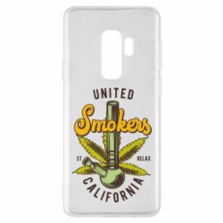 Чохол для Samsung S9+ United smokers st relax California