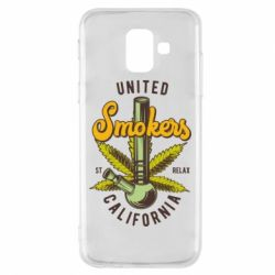 Чохол для Samsung A6 2018 United smokers st relax California