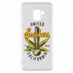 Чохол для Samsung A8+ 2018 United smokers st relax California
