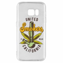 Чохол для Samsung S7 United smokers st relax California