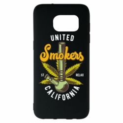 Чохол для Samsung S7 EDGE United smokers st relax California
