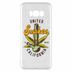 Чохол для Samsung S8 United smokers st relax California