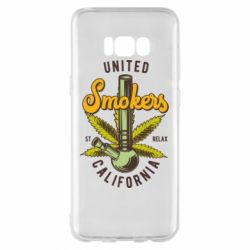 Чохол для Samsung S8+ United smokers st relax California