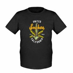 Дитяча футболка United smokers st relax California