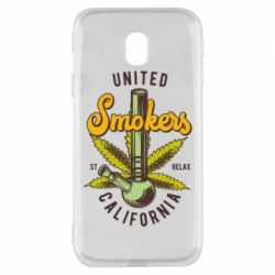 Чохол для Samsung J3 2017 United smokers st relax California