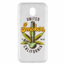Чохол для Samsung J5 2017 United smokers st relax California
