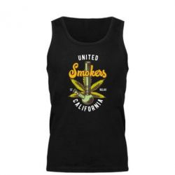 Майка чоловіча United smokers st relax California