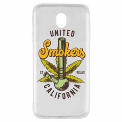 Чохол для Samsung J7 2017 United smokers st relax California