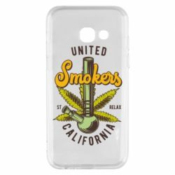 Чохол для Samsung A3 2017 United smokers st relax California