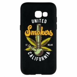 Чохол для Samsung A5 2017 United smokers st relax California