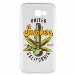 Чохол для Samsung A7 2017 United smokers st relax California