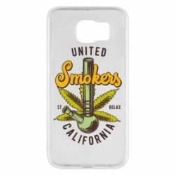 Чохол для Samsung S6 United smokers st relax California