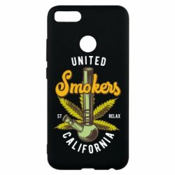 Чохол для Xiaomi Mi A1 United smokers st relax California