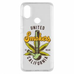 Чохол для Xiaomi Mi A2 United smokers st relax California