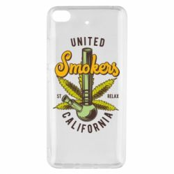Чохол для Xiaomi Mi 5s United smokers st relax California