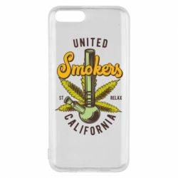 Чохол для Xiaomi Mi6 United smokers st relax California