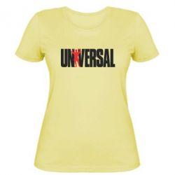 Женская футболка Universal - FatLine