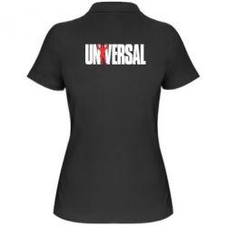 Женская футболка поло Universal - FatLine