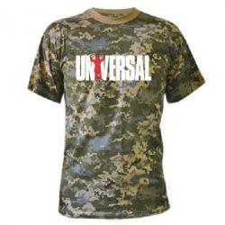 Камуфляжная футболка Universal - FatLine