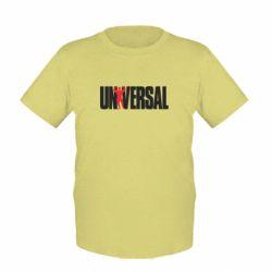 Детская футболка Universal - FatLine