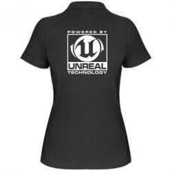 Женская футболка поло Unreal - FatLine