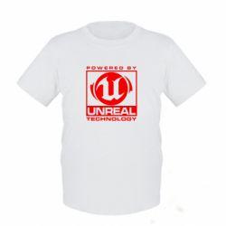 Детская футболка Unreal - FatLine