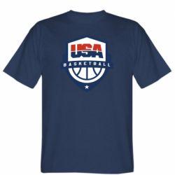 Мужская футболка USA basketball