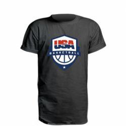 Удлиненная футболка USA basketball
