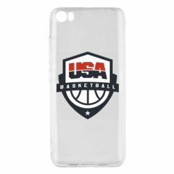 Чехол для Xiaomi Mi5/Mi5 Pro USA basketball