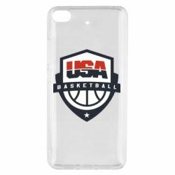 Чехол для Xiaomi Mi 5s USA basketball
